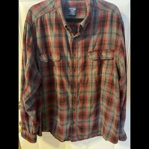 Faded Glory Flannel Shirt size 3 XLarge (54-56)